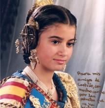Elena Nebot Collado,Fallera Mayor Infantil 2001